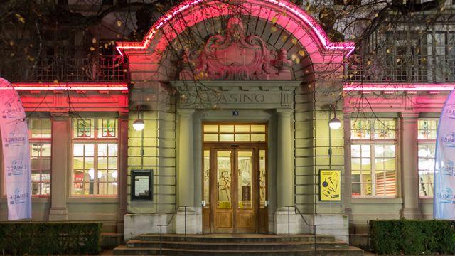 L'entrée de la Cinémathèque suisse à Lausanne. [Alexandre Chatton - RTS]