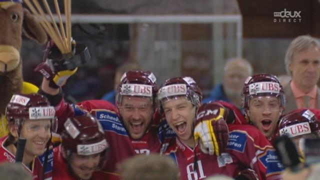 Genève Servette - Salafat Ufa (3-0): les genevois remportent pour la deuxième année consécutive la coupe Spengler [RTS]
