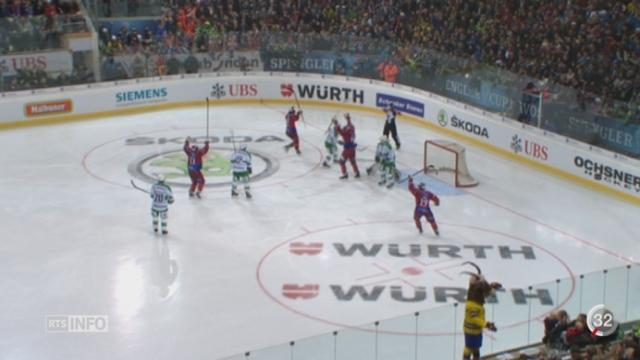 Hockey - Coupe Spengler: les Genevois ont remporté la coupe [RTS]