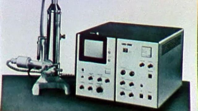 Le microscope électronique à balayage pour voir le très petit.