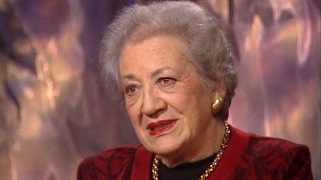 Rescapée d'Auschwitz, Ruth Fayon témoigne.