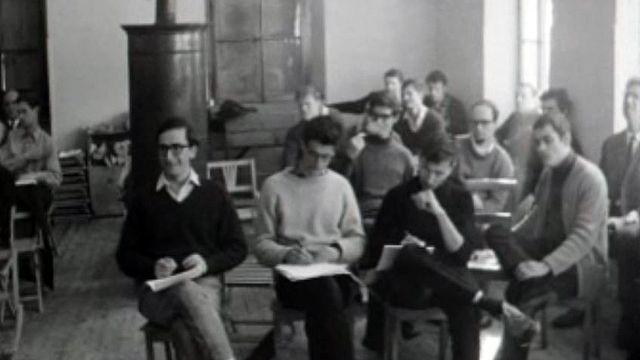 Réunion de jeunes mathématiciens. Mais qui sont-ils?
