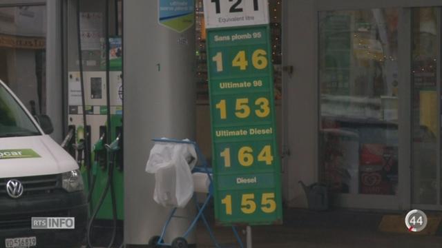 La baisse du prix pétrole se répercute sur le secteur des transports [RTS]