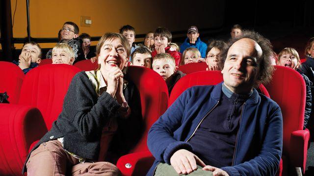 """Francine Pickel et Vincent Adatte, cofondateurs du club de cinéma pour enfants """"La Lanterne Magique"""", recevront le Prix d'honneur des 50e Journées de Soleure le 28 janvier prochain. [Journées de Soleure]"""