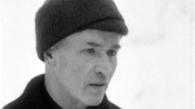 La première hivernale de l'alpiniste Michel Darbellay.