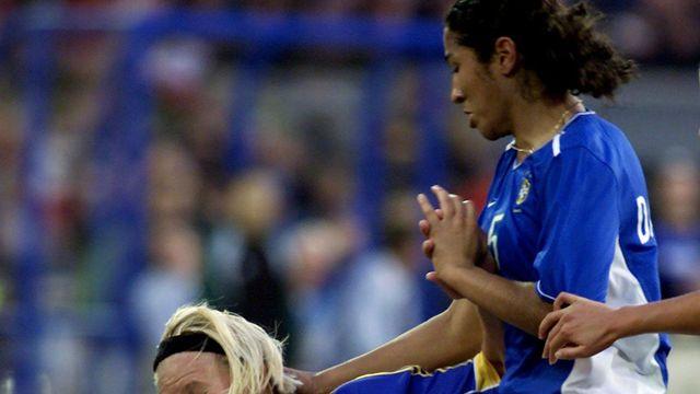 Le football féminin au Brésil peine à se faire une place dans la société brésilienne. [Torsten Blackwood - AFP]
