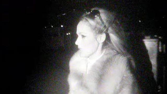 Instants volés de l'arrivée d'Ursula Andress à Cointrin.