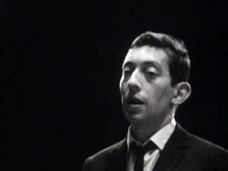 Serge Gainsbourg dans une de ses plus belles chansons.