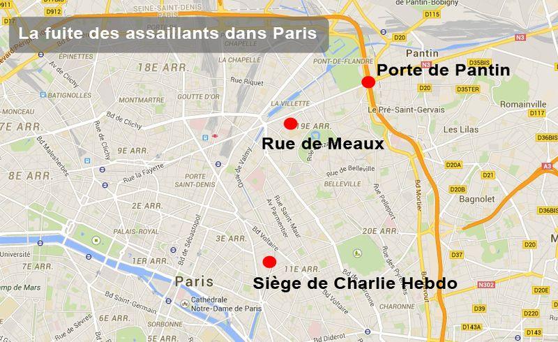 Alerte Paris 07/01/15 - Vigipirate Max 6437124
