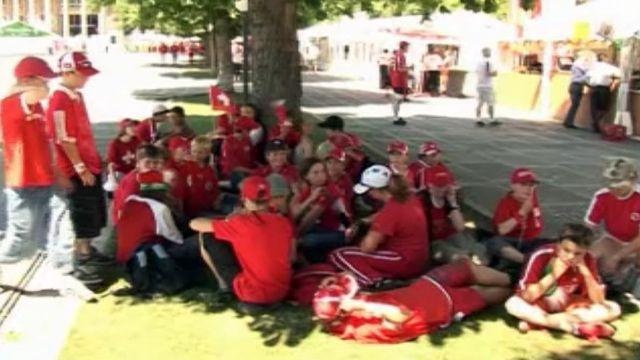 Soutenir l'équipe suisse au Mondial, quelle course d'école!