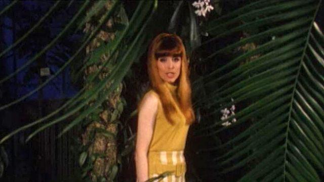 Elle a chanté: Quel coeur vas-tu briser? à l'Eurovision 1967. [RTS]