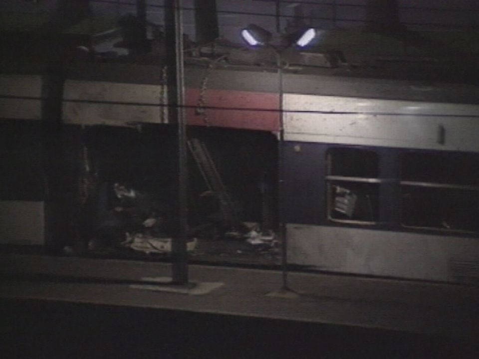 Attentat contre le métro à Paris en 1995. [RTS]