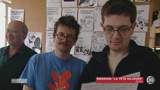 Attentat contre Charlie Hebdo: les dessinateurs de presse Cabu, Wolinski, Tignous et Charb sont décédés [RTS]