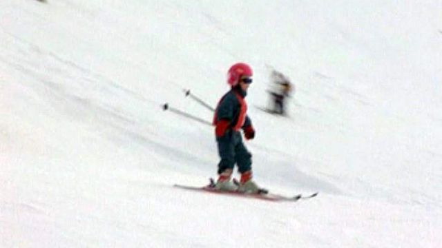 La meilleure sécurité pour les enfants sur les pistes, le casque!