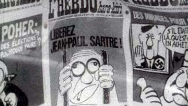 Avant Charlie Hebdo, Hara Kiri en 1972. [RTS]