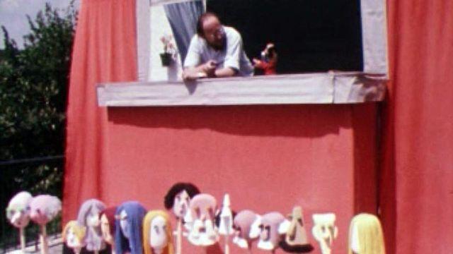 Pierre Pedroff :  une passion contagieuse pour le monde des marionnettes.