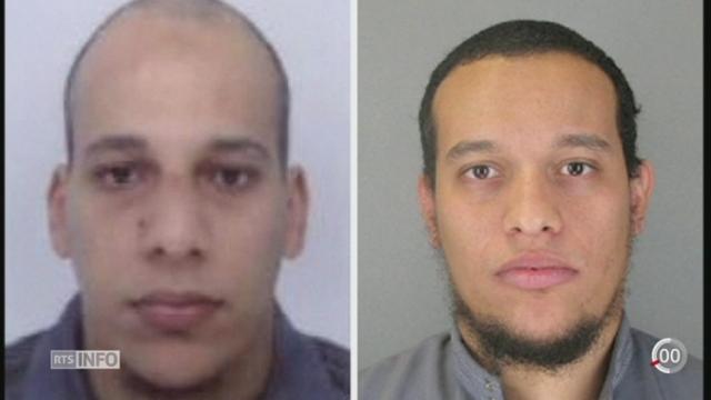Attentat à Charlie Hebdo: la traque des suspects se poursuit au nord-est de Paris (2-2) [RTS]