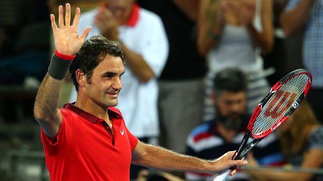 Federer affrontait pour la première fois Duckworth. [Tertius Pickard - Keystone]