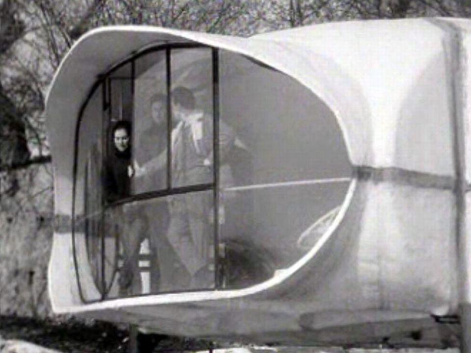 Mais qui voudrait vivre dans une maison si futuriste?