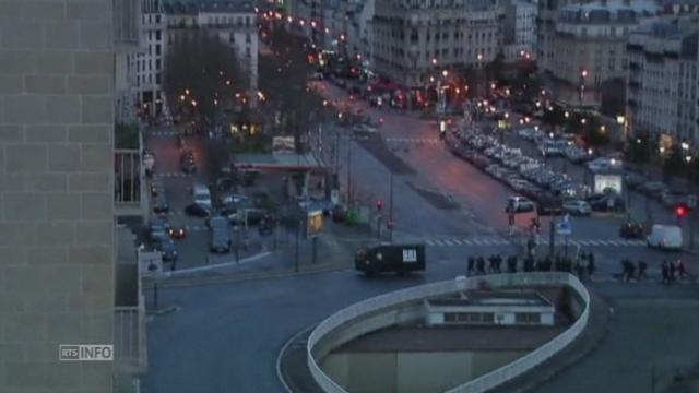 Les images de l'assaut lancé dans le magasin casher à Paris [RTS]