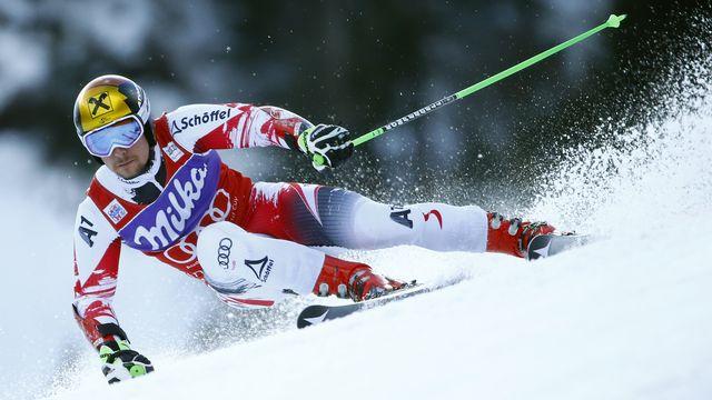 Hirscher, vainqueur en slalom et 3e en géant l'an passé, se plaît à Adelboden. [Ruben Sprich  - Reuters]