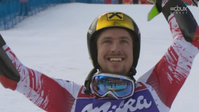 Géant messieurs, 2e manche: Marcel Hirscher (AUT) remporte la course facilement [RTS]