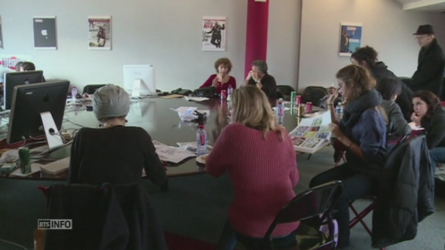 Les journalistes de Charlie Hebdo de retour au travail [RTS]