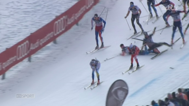Ski de fond: Dario Cologna s'adjuge la 3ème place du 15km classique à Val di Fiemme (Italie) [RTS]