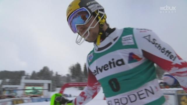 Slalom messieurs, 2e manche: Marcel Hirscher complète le podium et s'empare de la tête du classement général [RTS]