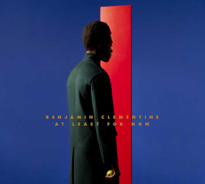 "Pochette de l'album ""At least for now"" de Benjamin Clementine."