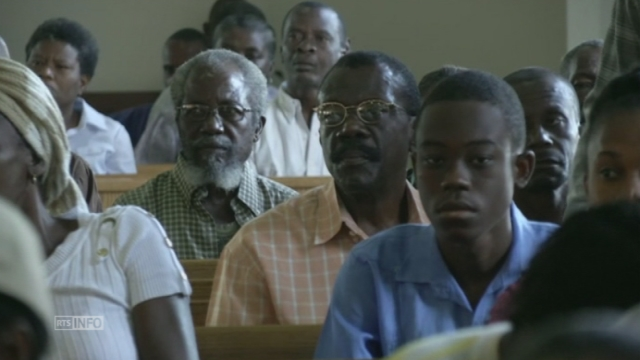 Messe pour les cinq ans du séisme en Haïti [RTS]