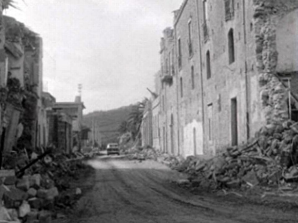 Sicile, de gros dégâts après le tremblement de terre.