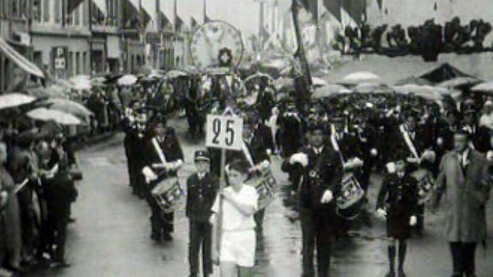 En 1964, Morges avait encore sa fête des vendanges.