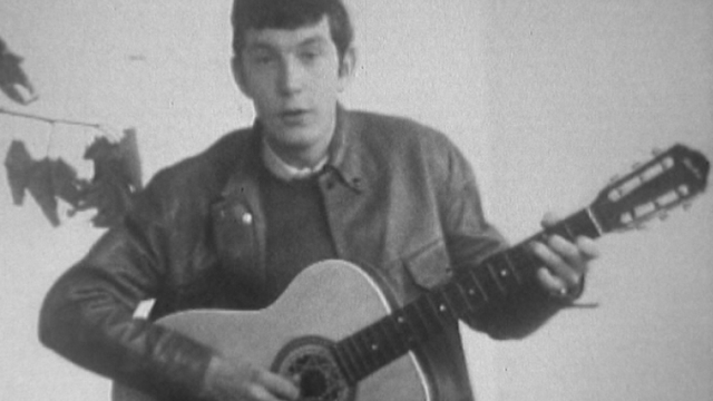 Michel Bühler en 1968. [RTS]