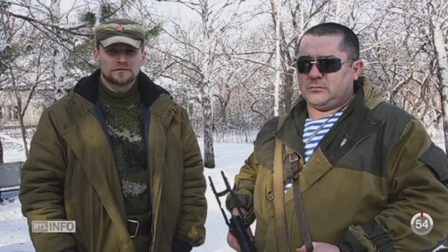 Ukraine: l'aéroport de Donetsk est le théâtre de combats d'une intensité sans précédent [RTS]