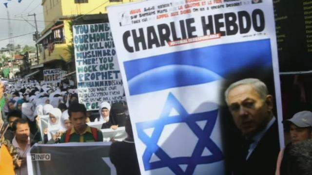 Manifestation anti-Charlie Hebdo aux Philippines [RTS]