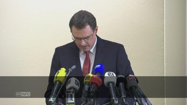 La conférence de presse de Thomas Jordan, président de la BNS (sous-titrée) [RTS]