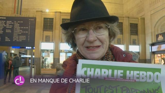 Le tirage de Charlie Hebdo a été vendu en quelques minutes [RTS]