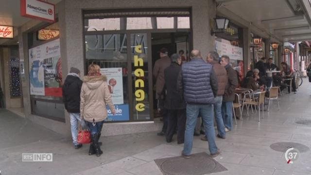 BNS - Taux de l'euro: les bureaux de change romands sont débordés [RTS]