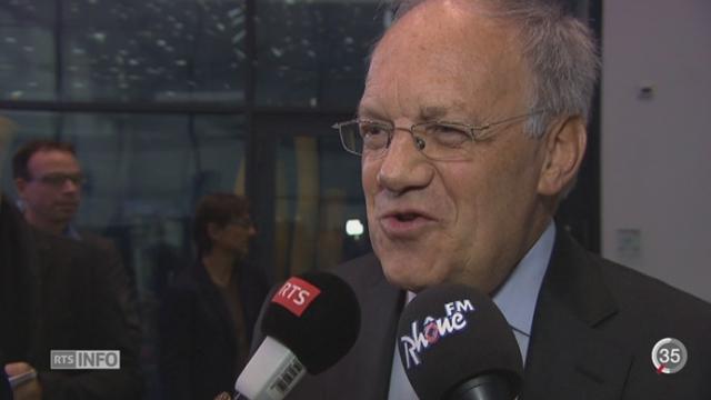 BNS - Taux de l'euro: l'annonce a été un choc pour le monde politique [RTS]