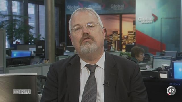 BNS - Taux de l'euro: les précisions d'Andreas Höfert, Chef économiste UBS [RTS]