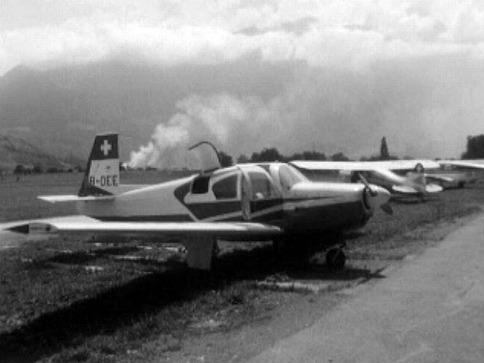 Une crise de croissance à l'aéroclub à Bex dans le Chablais.