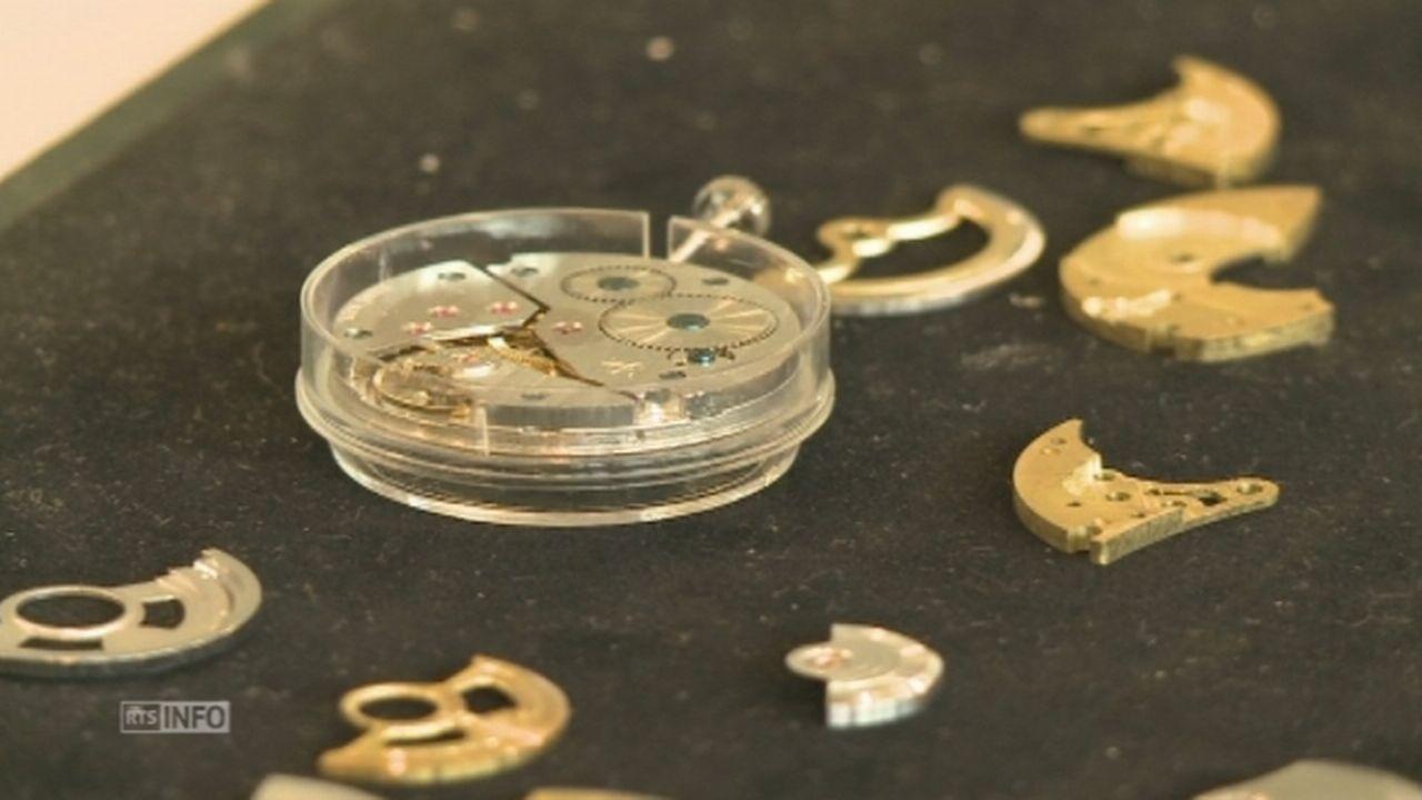 Première usine de montres ouverte dans le canton de Fribourg [RTS]