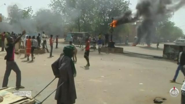 Le bilan des manifestations au Niger est de cinq morts et de 10 à 20 églises incendiées [RTS]