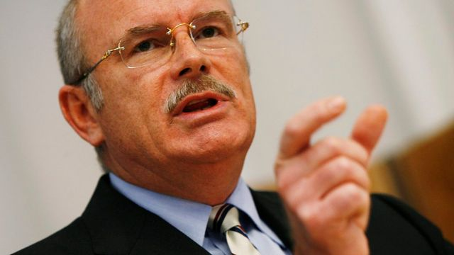 Andreas Koopmann, ancien directeur de Bobst. [Steffen Schmidt - Keystone]