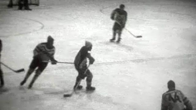Le derby romand Fleurier - Sierre de hockey de LNB
