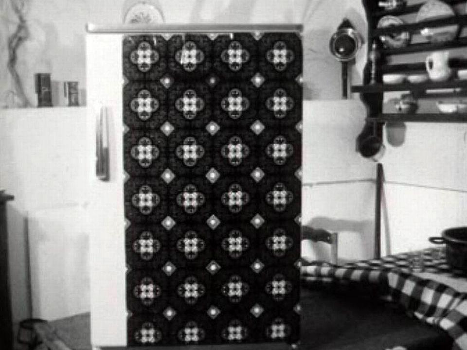 Un procédé simple pour transformer son frigo en oeuvre d'art.