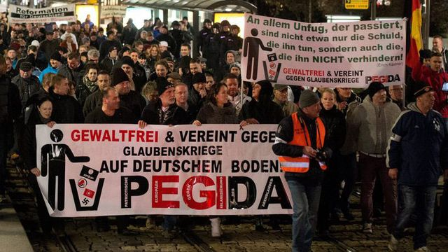 Le mouvement allemand s'implante ailleurs en Europe. [Arno Burgi - EPA/Keystone]