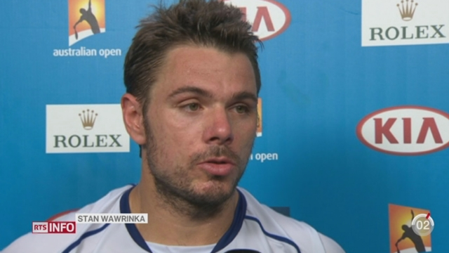 Tennis - Open d'Australie: Wawrinka remporte facilement son premier match [RTS]