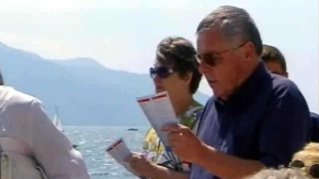 Sur le lac Léman, on peut chanter à tue-tête l'hymne national.